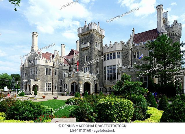 Casa Loma home of famous Sir Henry Mill Pellatt Toronto Ontario Canada