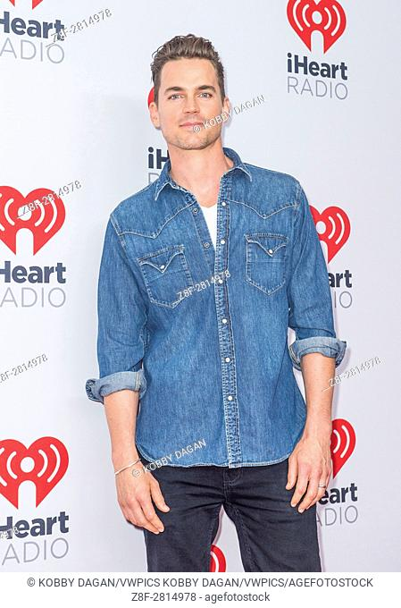 Actor Matt Bomer attends the 2015 iHeartRadio Music Festival at MGM Grand Garden Arena in Las Vegas, Nevada
