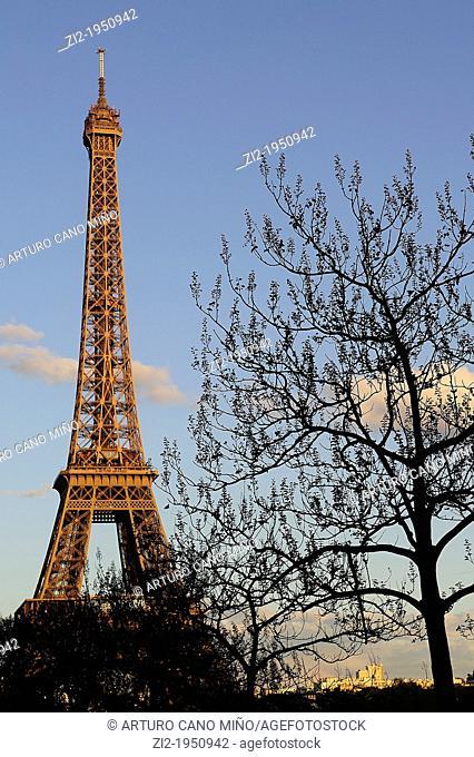 Tour Eiffel. Paris, France