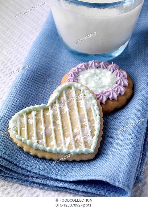 Home made biscuits cookies editorial food