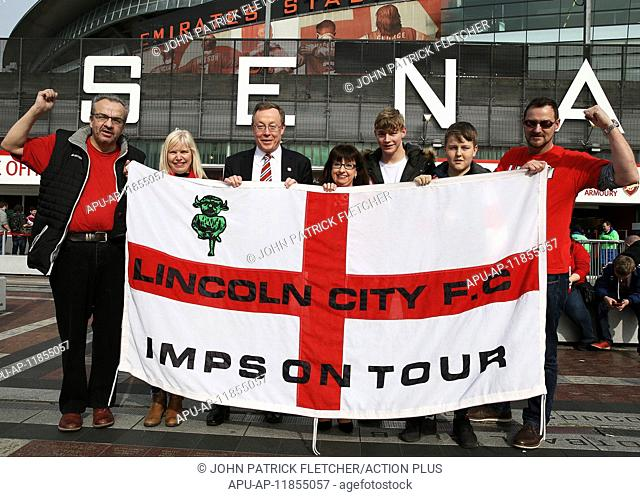 2017 FA Cup 6th Round Arsenal v Lincoln March 11th. March 11th 2017, London, England; FA Cup 6th round football, Arsenal FC versus Lincoln City; Steve Tointon