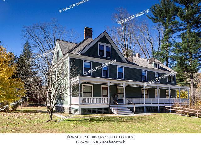 USA, Pennsylvania, Pocono Mountains, Lackawaxen, Zane Grey Museum, former home of famous wrtier of Westerns