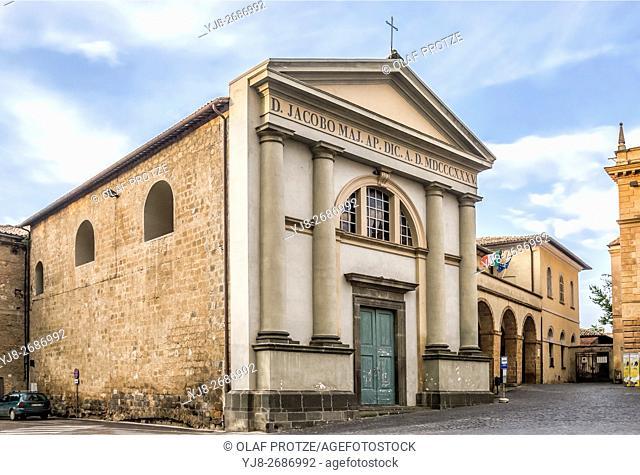 Curia Vescovile Di Orvieto at Piazza del Duomo, Orvieto, Umbria, Italy