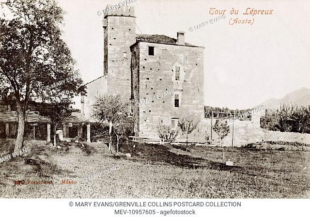 Aosta, Aosta Valley, Italy - The Lepers Tower