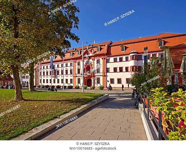 Kurmainzischen Statthalterei, today Thuringian State Chancellery in Erfurt, Thuringia, Germany