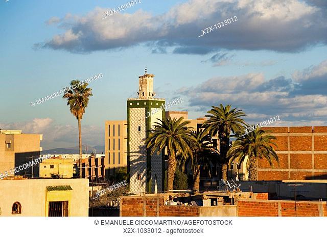 Minaret, Oujda, Oriental region, Morocco