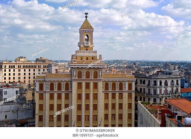 Bacardi Building, Art deco, Old Havana, Unesco World Heritage Site, Cuba