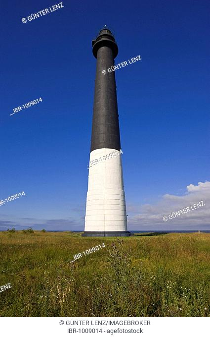 Lighthouse, Saeaere, Saaremaa, Baltic Sea Island, Estonia, Baltic States, Northeast Europe