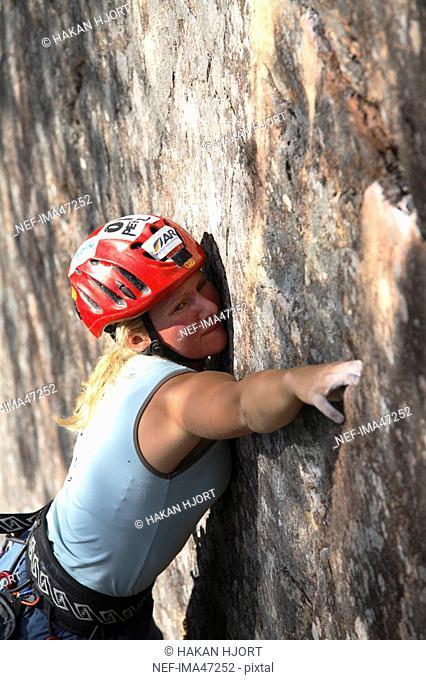 Rock climbing Sweden