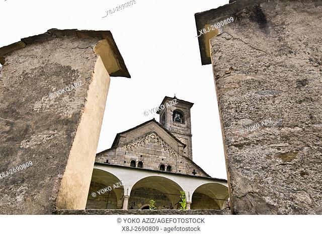 Romanesque Church of St. Donato, Carpugnino (Verbania, Italy)