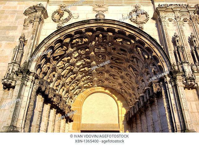 Portal of Saint-Michel Church, Dijon, Côte-d'Or departement, Burgundy, France