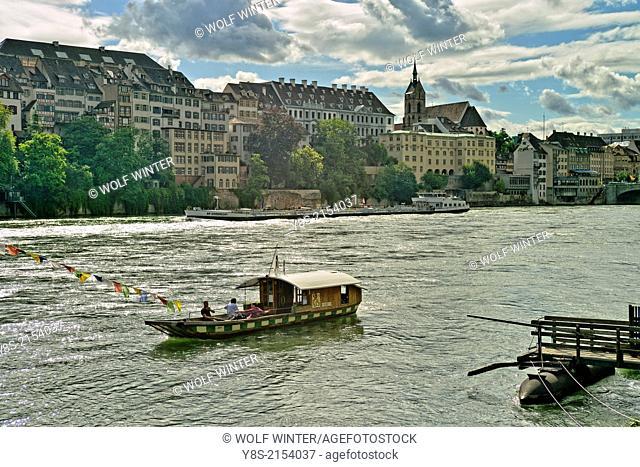Minster Ferry, Basle, Switzerland