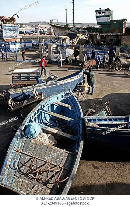 Fishing port, Essaouira, Morocco
