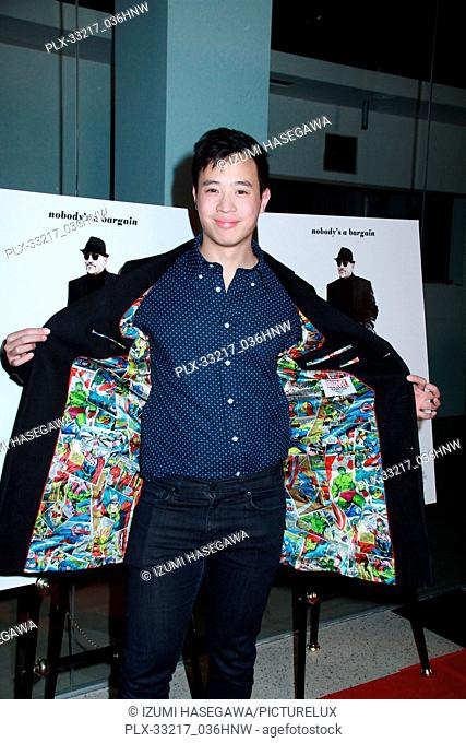 """Hayden Szeto 01/27/2017 The Los Angeles Premiere of """"""""The Comedian"""""""" held at the Pacific Design Center Silver Screen Theatre in West Hollywood"""