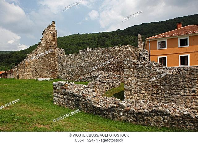 Serbia,Ravanica Monastery,Ascension of Jesus Church,1375-1377,Prince Lazar's Foundation,fortification wall,convent building,Orthodox,christian,religious