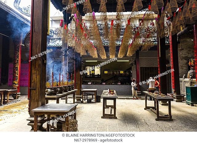 Incense sticks and coils, Thien Hau Temple, Chinatown, Ho Chi Minh City (Saigon), Vietnam