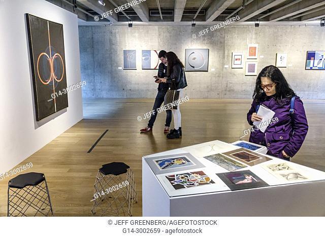 Argentina, Buenos Aires, MACBA, Museo de Arte Contemporaneo, Museum of Contemporary Art, museum, gallery, Eduardo Mac Entyre, geometric paintings, exhibit