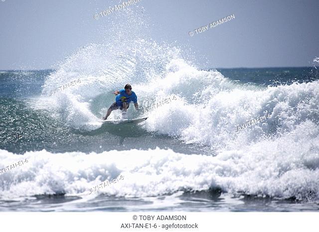 Man surfing, Tanzania,East Africa