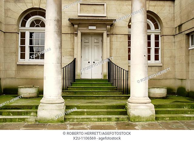 The old St Bartholomew's Hospital, West Smithfield, London, England