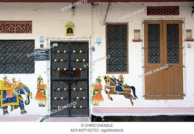 Doorways, Udaipur, Rajastan, India