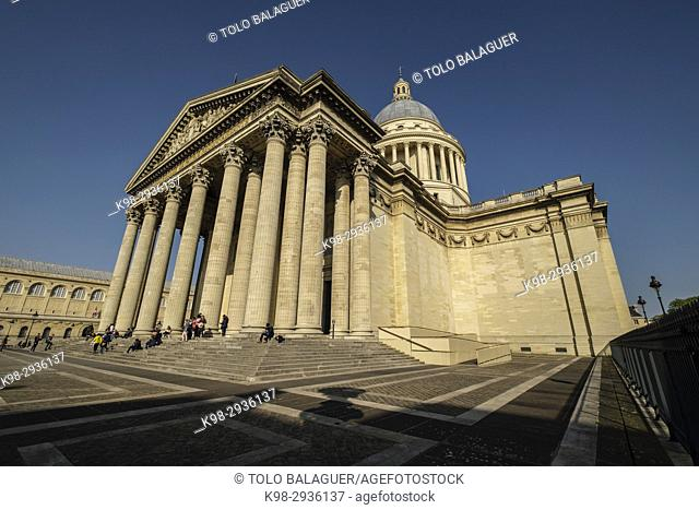 Panthéon, neoclassical monument, Paris, France