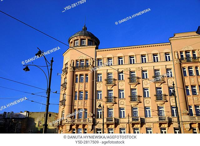 Hotel Polonia Palace - Hotel Polonia Palast in very central position in the city of Lodz, Gabriela Narutowicza street number 38, Lodz, Poland, Europe