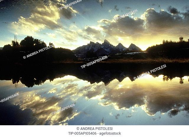 USA, Wyoming, Grand Teton National Park, Snake River