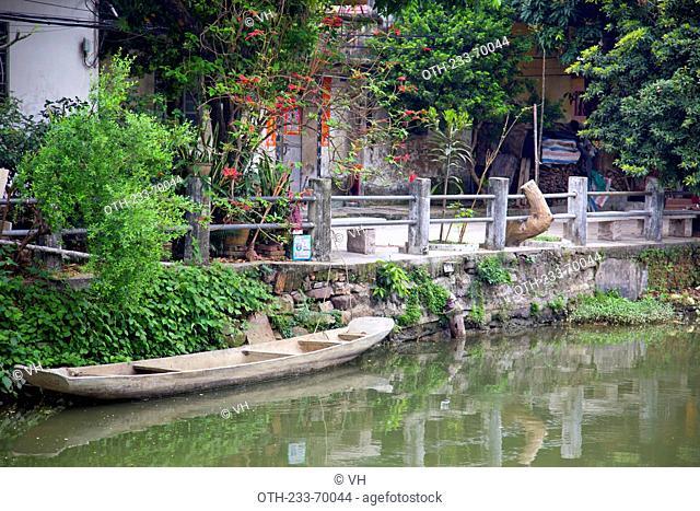 Fengjian ancient village, Xingtan town, Shunde, Guangdong, China