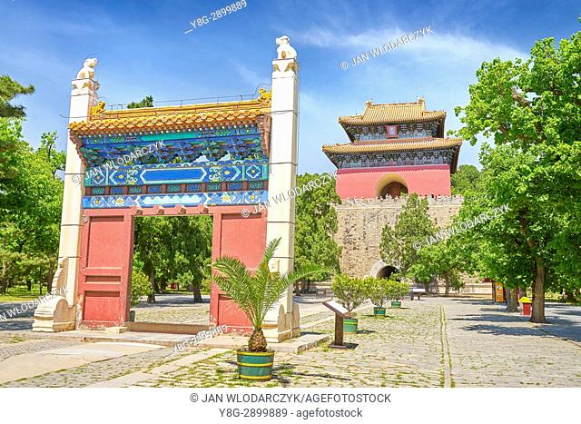 Entrance to Changling of Ming Tombs, Beijing, China