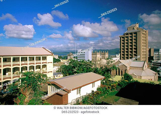 Downtown Suva. Viti Levu. Fiji
