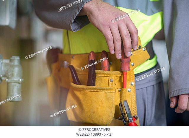 Worker's tool belt