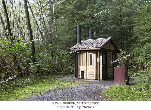 Sitka, Alaska: Restroom facilities at Sitka National Historical Park