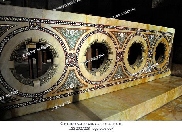 Paris, France, Sacre Coeur Basilica, altar