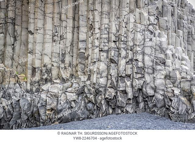 Basalt columns Reynisfjara beach, Iceland