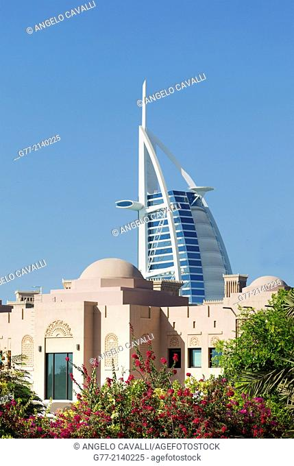 Burj Al Arab Hotel, Dubai, United Arab Emirates (UAE)