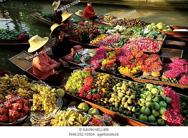 Damnoen Saduak Floating Market, Bangkok, Thailand