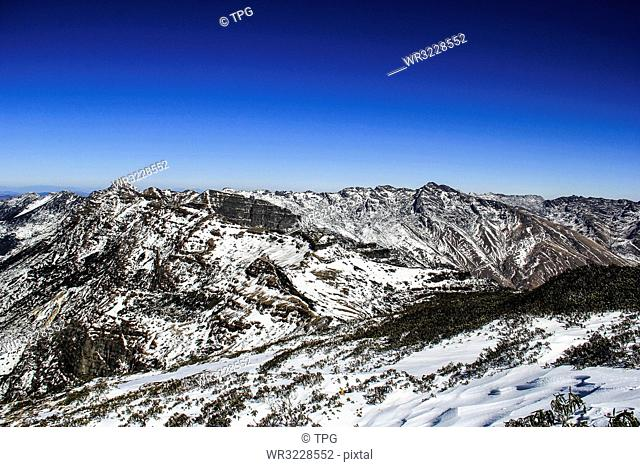Kunming Jiaozi Snow Mountain;Kunming; Yunnan; China