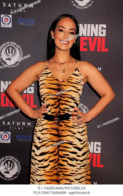 "Victoria La Mala 09/16/2019 """"Running with the Devil"""" premiere held at Writers Guild Theater in Beverly Hills, CA Photo by I"