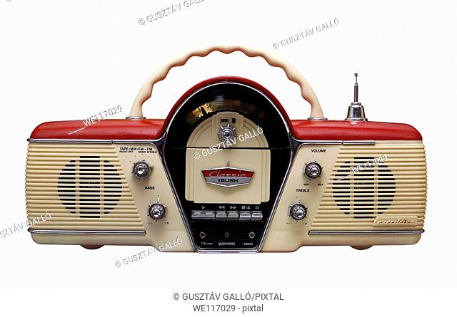 Old radio from 1960 and the years