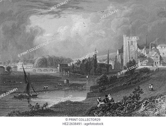 'Maidstone, Kent', 19th century. Artist: Alexander McClatchie