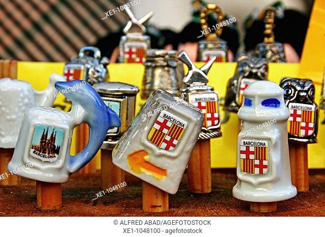 Ceramic Thimbles, souvenirs