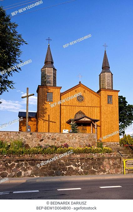 Holy Heart of Jesus Church in Jeleniewo, Podlaskie Voivodeship