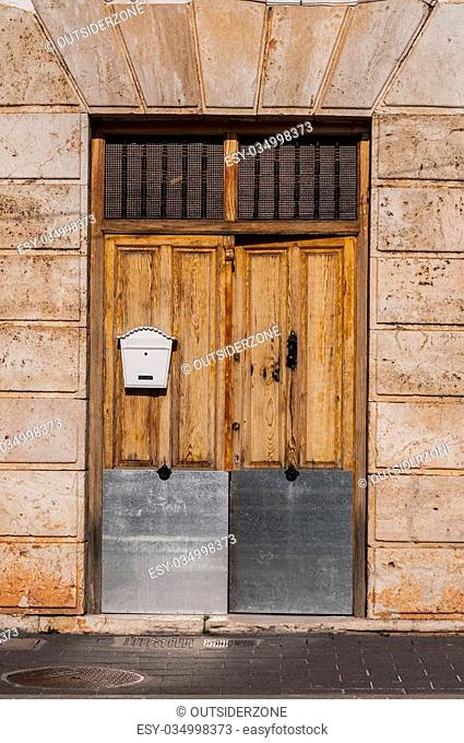 architecture details from spain. aged materials and texture