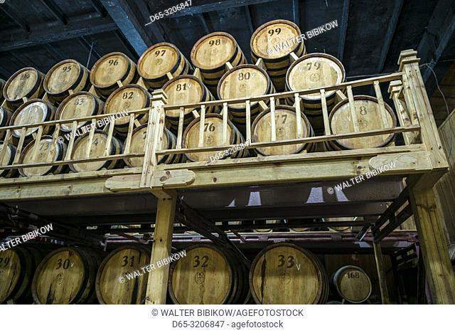 Armenia, Switzerland of Armenia area, Ijevan, Ijevan Wine Factory, wine cellar, ER