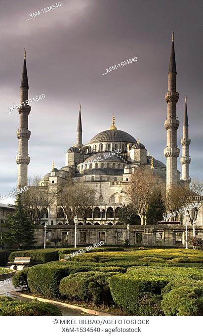 Sultan Ahmed Mosque Sultanahmet Camii  Istanbul, Turkey