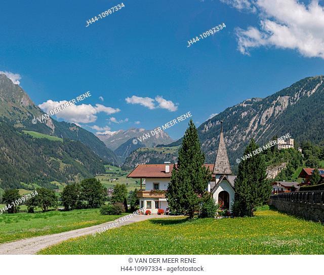 Matrei in Osttirol, Austria, Chapel near the Weissenstein castle