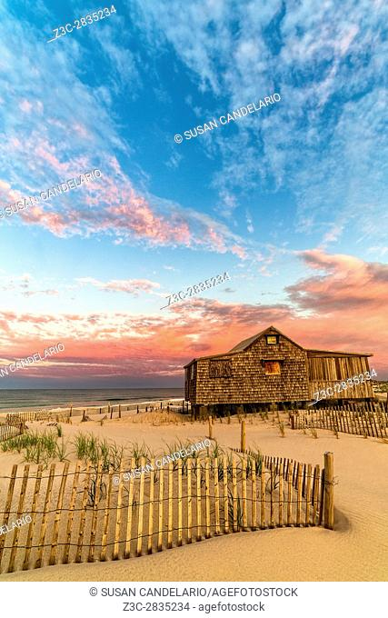Judges Shack NJ Shore II - The Judge's Shack at Island Beach State Park (IBSP) at the New Jersey shore. . . This original fishing shack is believed to have been...