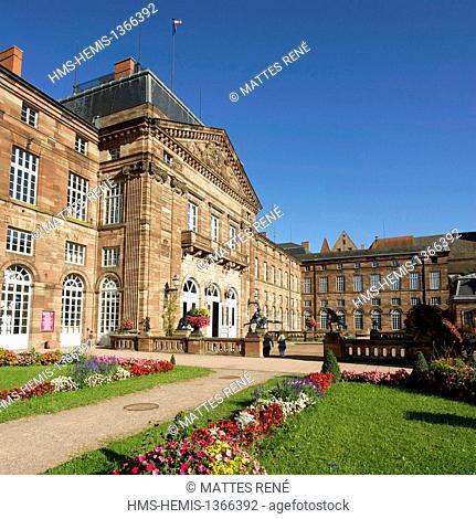 France, Bas Rhin, Saverne, the Rohan castle