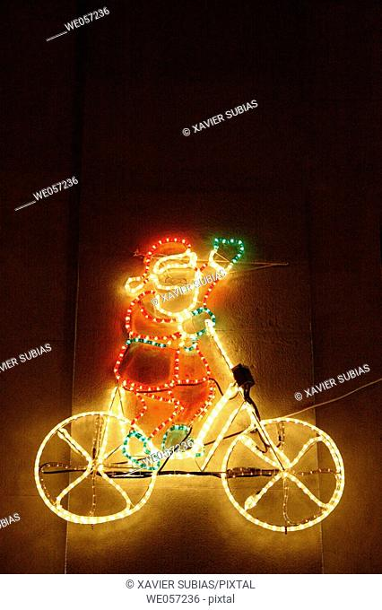 Santa Claus, Chritsmas lights