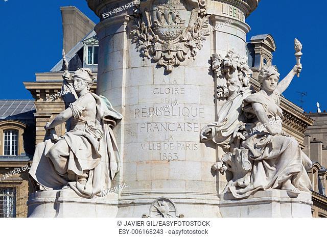 """""""""""""""""""""""Republique"""""""" in Paris, Ile de France, France"""